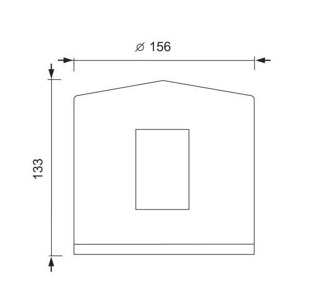 OPRAWA zewnętrzna LENSO C4I lampa LED E14