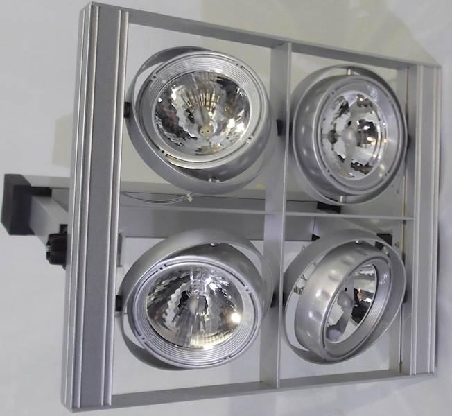 Oprawa sufitowo-ściena QUERO4S lampa LED PAR111 S