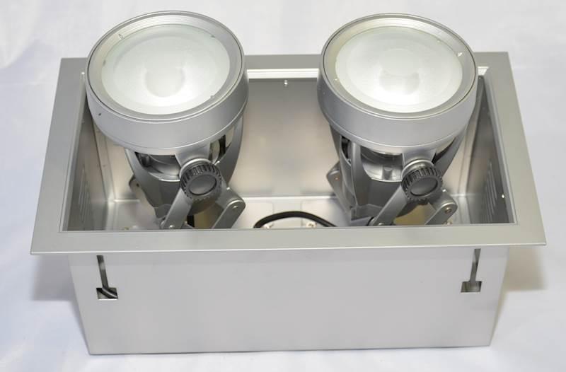 OPRAWA DOWNLIGHT sufitowa VEKTOR2G lampa 2X70W MH