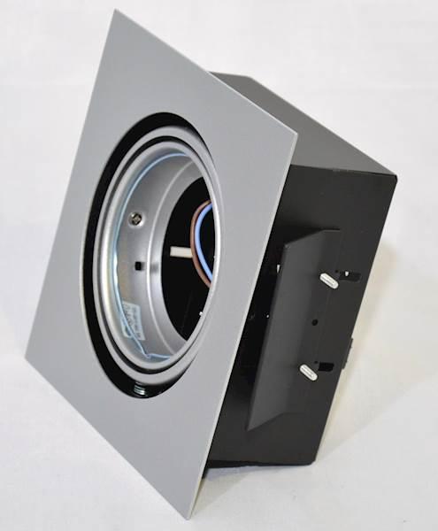 OPRAWA DOWNLIGHT sufitowa KLIRIO1 x lampaLED AR111