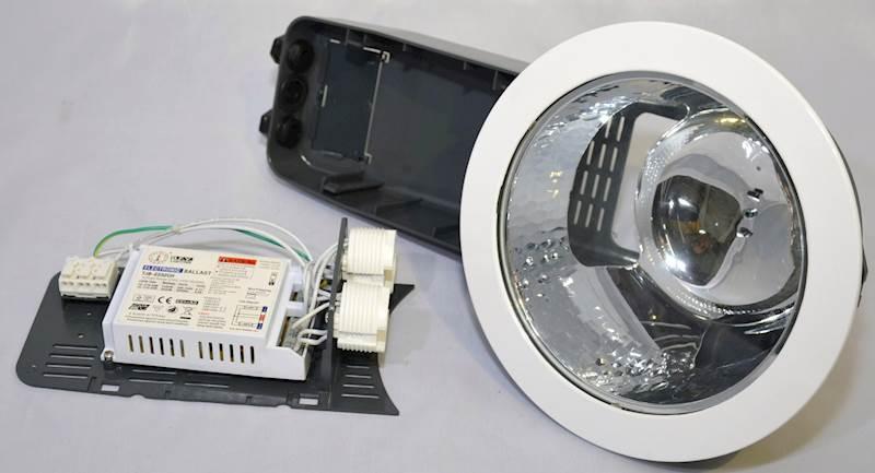 OPRAWA DOWNLIGHT sufitowa lampa  PROFI 2X32W EVG