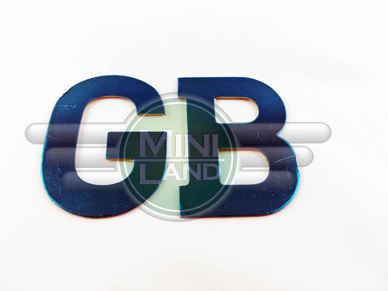 Emblemat 'GB' na tylną klapę