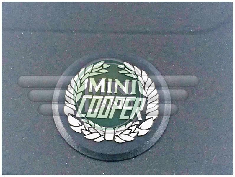 Osłona przeciwbłotna tylna - logo 'MINI COOPER'