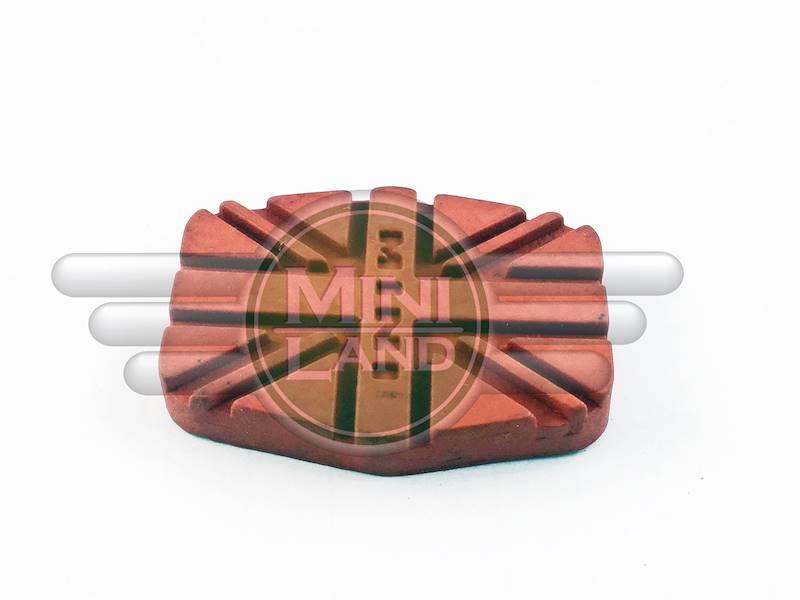 Nakładka pedału sprzęgła/hamulca - czerwona (Mk3)