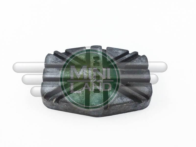 Nakładka pedału sprzęgła/hamulca- czarna (Mk3)