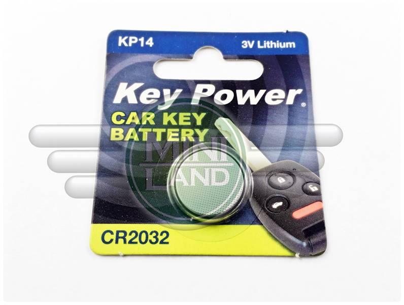 Bateria do pilota CR2032