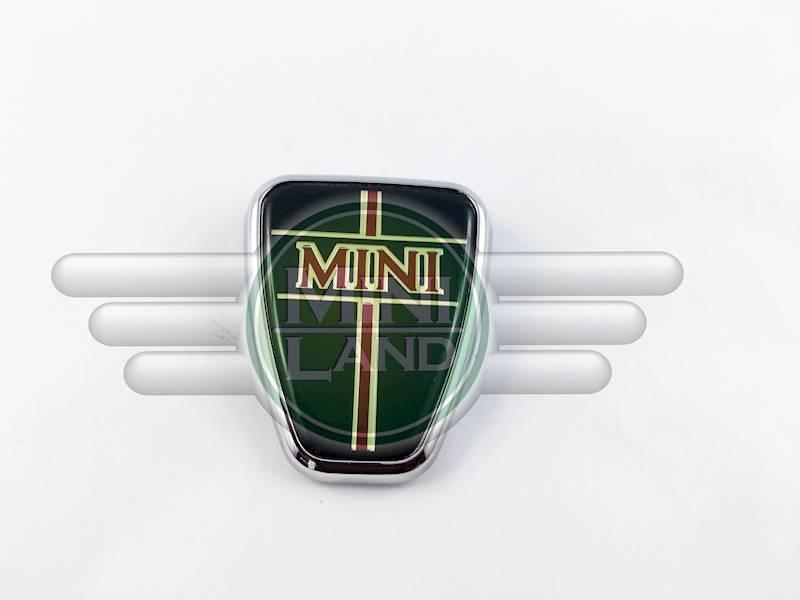Emblemat 'MINI' na maskę