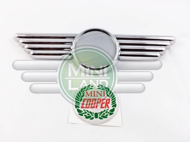 Emblemat 'Mini Cooper' ze skrzydełkami
