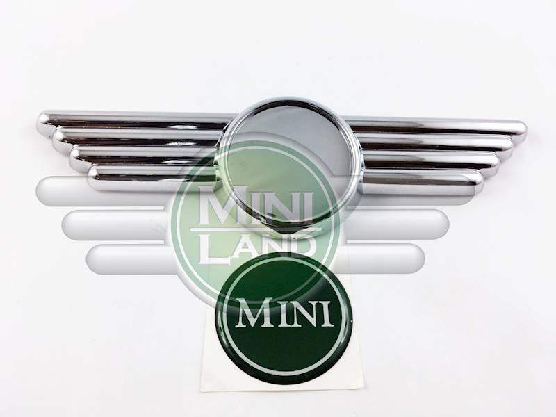 Emblemat 'MINI' ze skrzydełkami