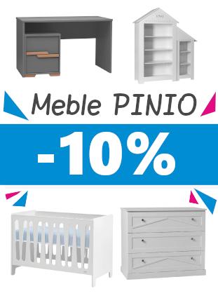 - 10% na meble PINIO