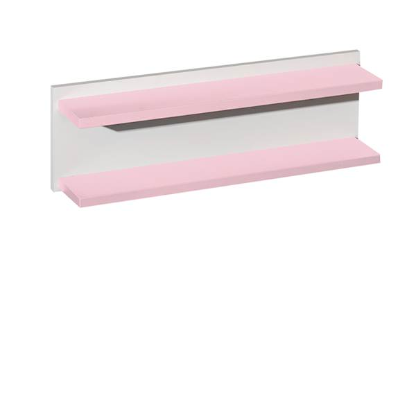 Classic New - Półka ścienna wisząca - kolor pastelowy róż