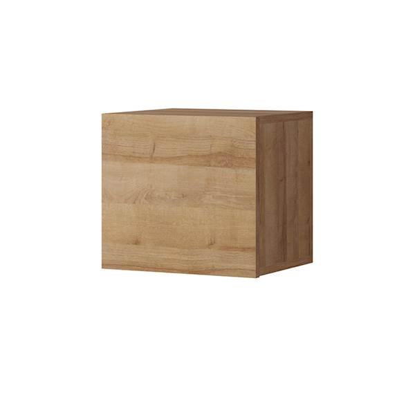 Calabrini - półka kwadrat - dąb złoty