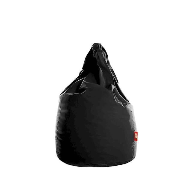 Pufa XL (ekoskóra) - czarny