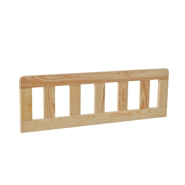Barierka do łóżka domek 200x90 Pinio - Classic (2 szt.) 80 cm - drewno sosnowe