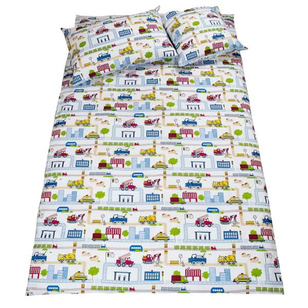 Pościel dziecięca zestaw na łóżko 160x80, 7-elementowa - Budowa