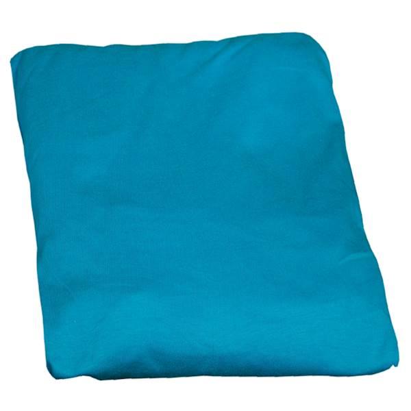 Prześcieradło z gumką na łóżko dziecięce 160x80 cm - kolor turkusowy