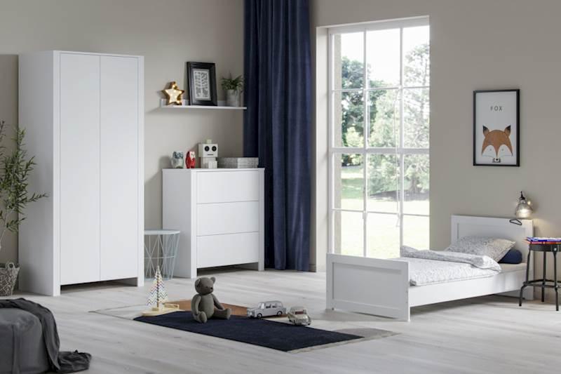 Basic ATB - Zestaw mebli dziecięcych (2) - kolor biały