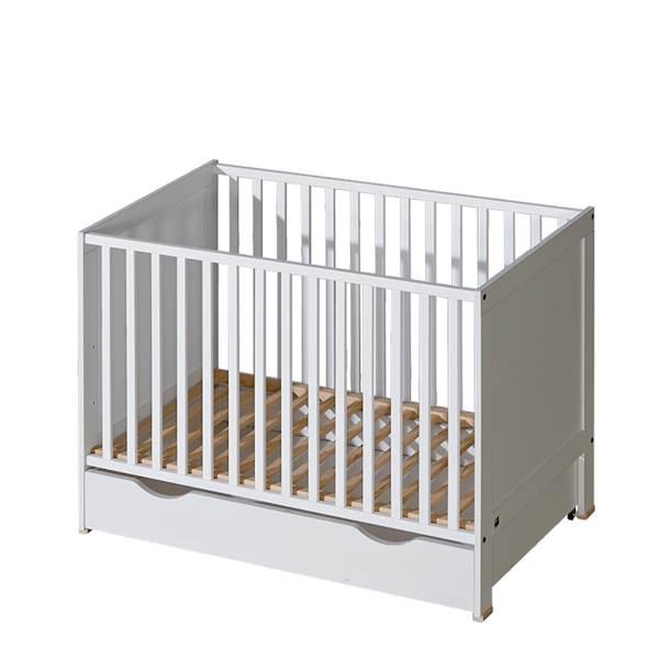 Basic ATB - Szuflada do łóżeczka 120x60 cm - kolor biały