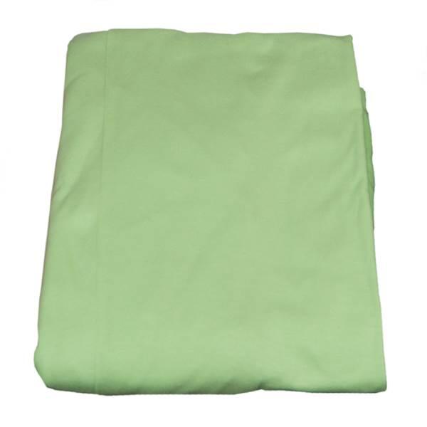 Prześcieradło z gumką na łóżko dziecięce 160x80 cm - kolor zielony