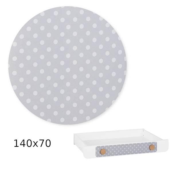 Iga Pinio - Nakładka tapicerowana - szuflada 140x70