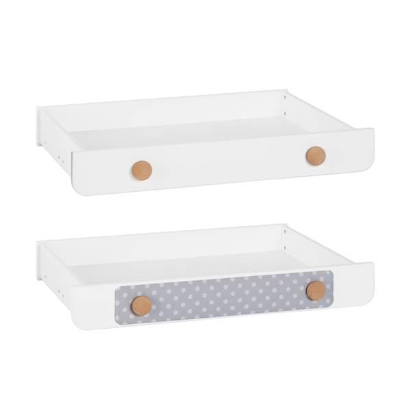 Iga Pinio - Szuflada do łóżeczka 140x70 cm - kolor biały