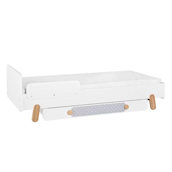 Iga Pinio - Łóżko 200x90 - kolor biały