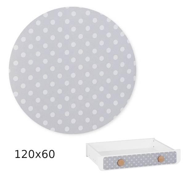 Iga Pinio - Nakładka tapicerowana - szuflada 120x60