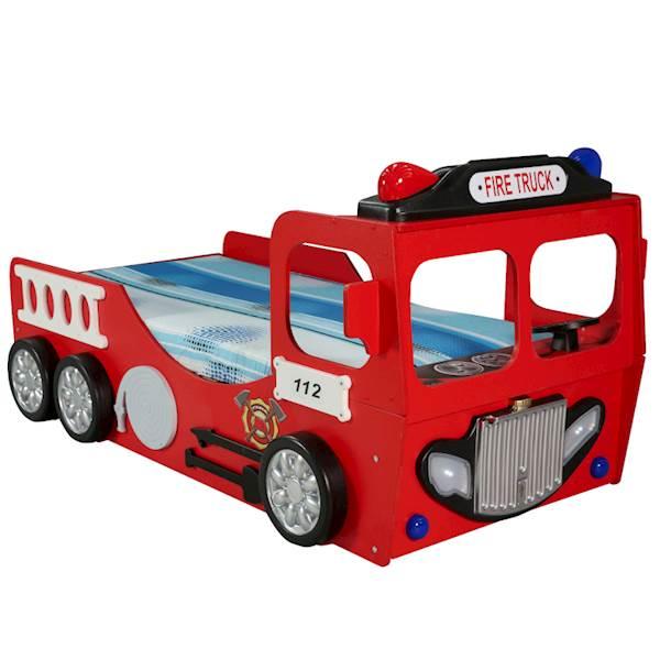 Łóżko straż pożarna - Bed Fire Truck z materacem 190x90 cm