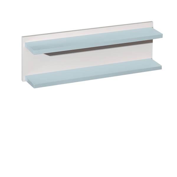Classic New - Półka ścienna wisząca - kolor pastelowy niebieski