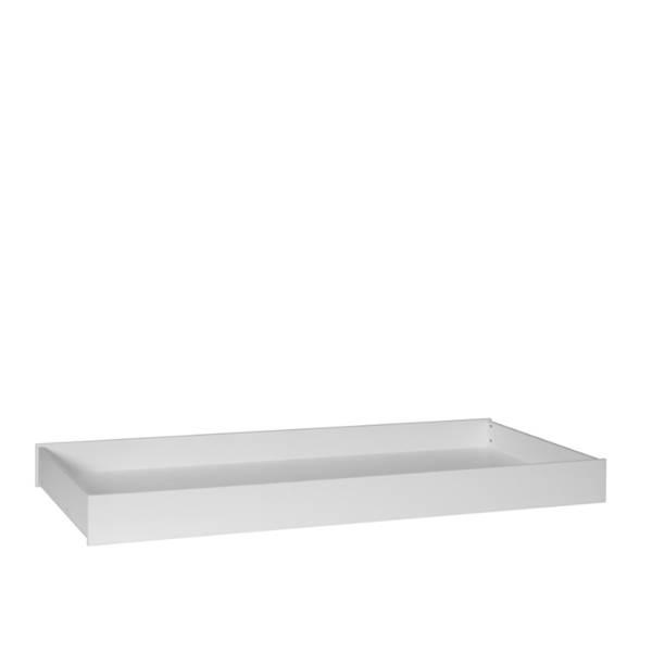 Snap Pinio - Szuflada do łóżka 200x90 cm - kolor biały