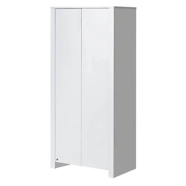 Basic ATB - Prosta szafa 2 drzwiowa - kolor biały
