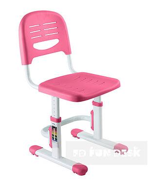 Regulowane dziecięce krzesło dla dziecka SST3 Grey - Różowe