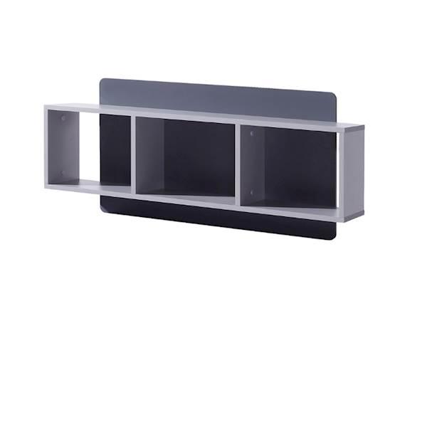 LIDO - Półka panel  - Grafit + popiel