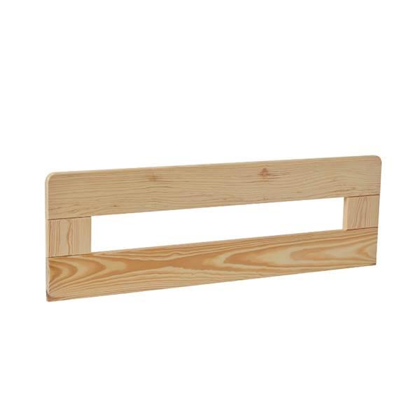 Barierka do łóżka domek 200x90 Pinio - Simple (2 szt.) 80 cm - drewno sosna