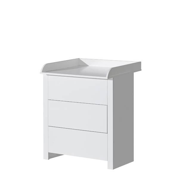 Basic ATB - Komoda z przewijakiem - kolor biały
