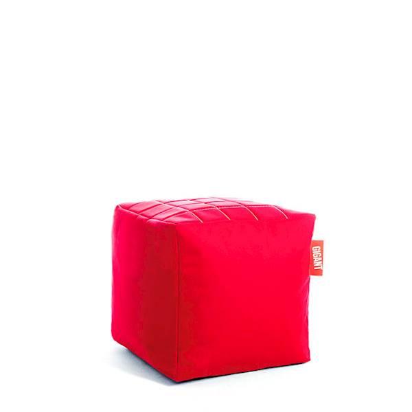 Pufa Kostka (kodura) - Czerwona