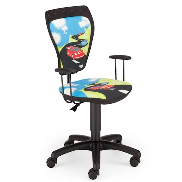 Krzesło obrotowe dziecięce - Ministyle TURBO (Auto)