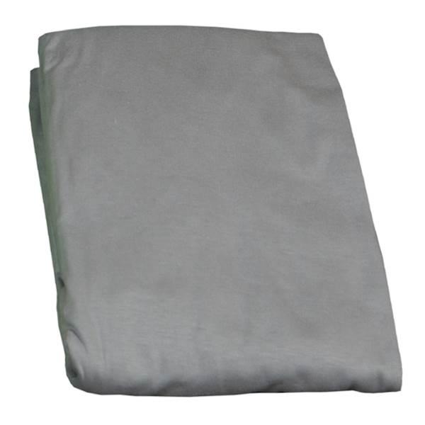 Prześcieradło z gumką na łóżko dziecięce 160x80 cm - kolor szary