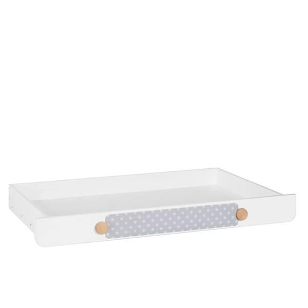 Iga Pinio - Szuflada do łóżka 200x90 cm - kolor biały