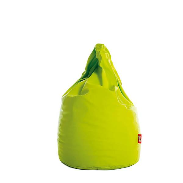 Pufa XL (ekoskóra) - limonka
