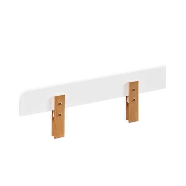 Nordik - Barierka zabezpieczająca 90 cm - jesion + biały