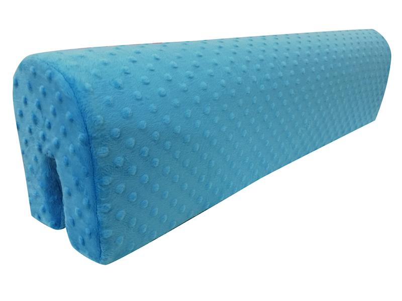 Ochraniacz piankowy Minky na łóżko barierkę 80 cm - turkusowy