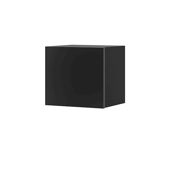 Calabrini - półka kwadrat - czarny