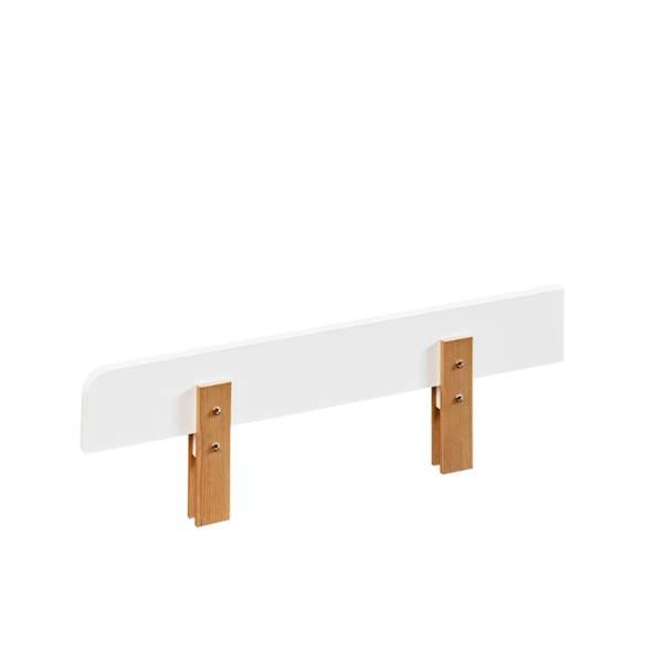 Yeti - Barierka zabezpieczająca 140 cm - Jesion + biały