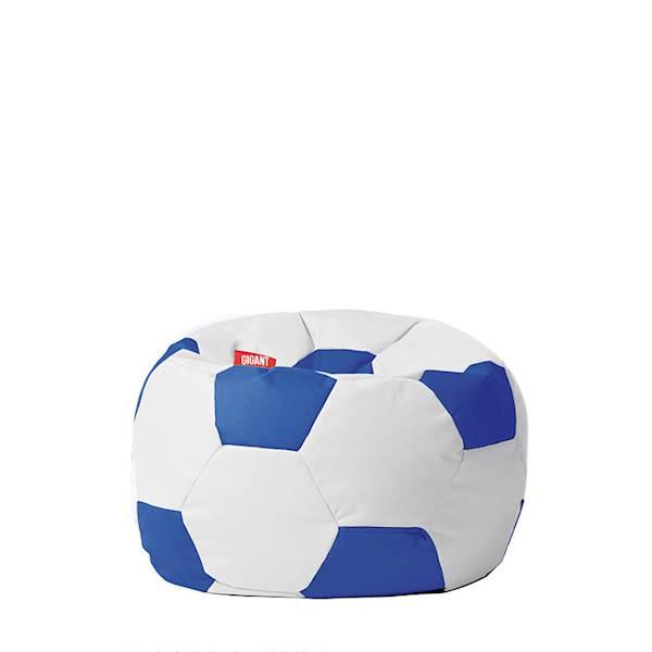 Pufa piłka 250L (kodura) - biało-niebieska