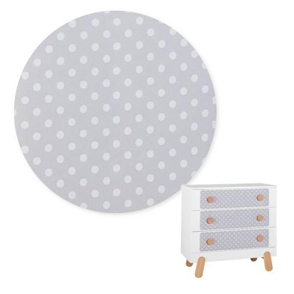 Iga Pinio - Nakładka tapicerowana - komoda 3 szufladowa
