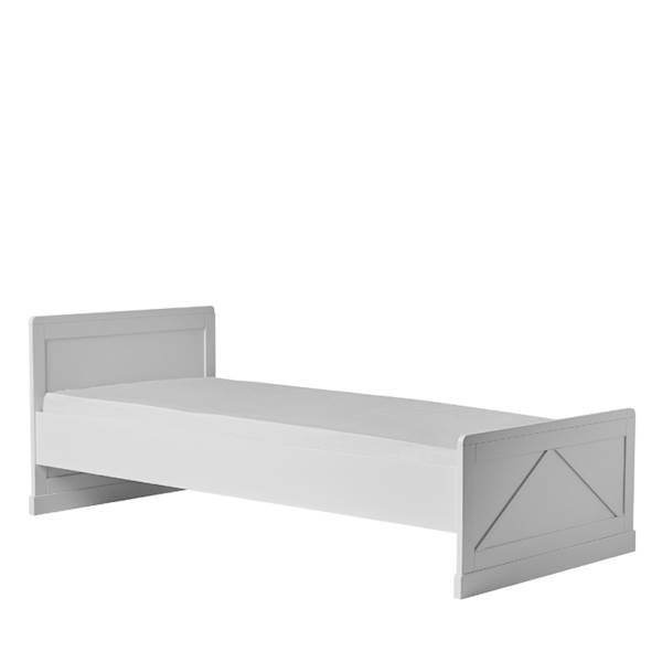 Marie Pinio - Łóżeczko 200x90 cm - kolor biały