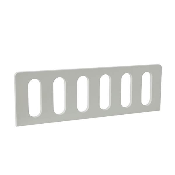 Barierka do łóżka domek 200x90 Pinio - Modern (2 szt.) 80 cm - kolor biały