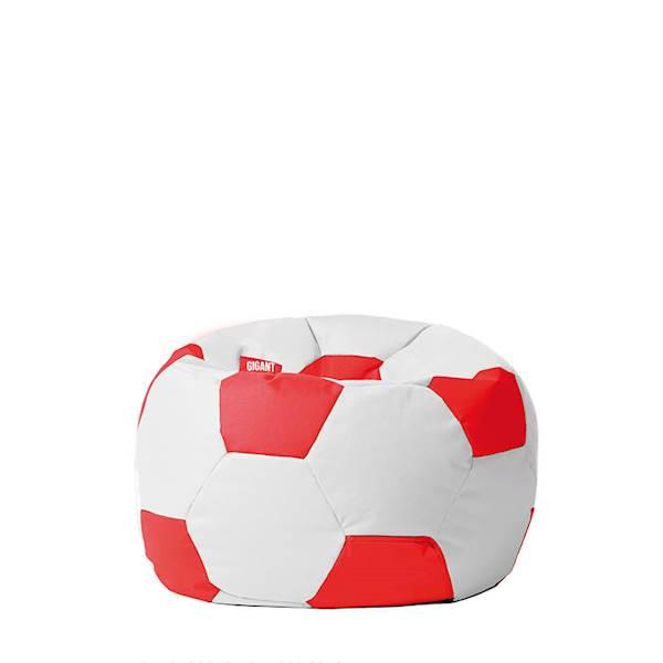 Pufa piłka 250L (kodura) - biało-czerwona