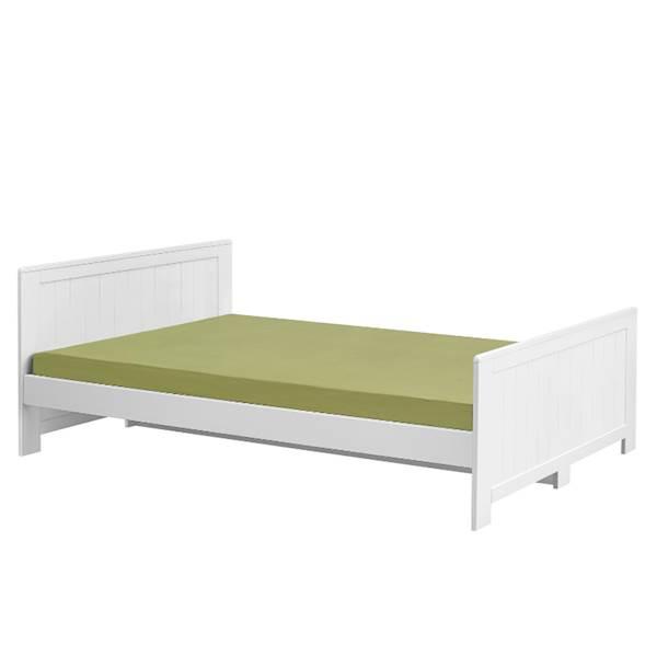 Blanco Pinio - Łóżko 200x120 cm - kolor biały